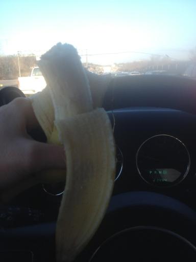 Traffic banana