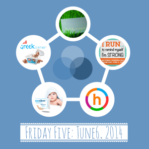 favorites, happify, muller, my baby is organic, water wipes, national running day