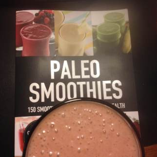 Paleo Vegan PB&J Smoothie